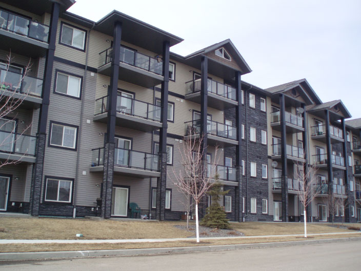 Ospin Terrace Condo Complex in South Terwillegar, Edmonton