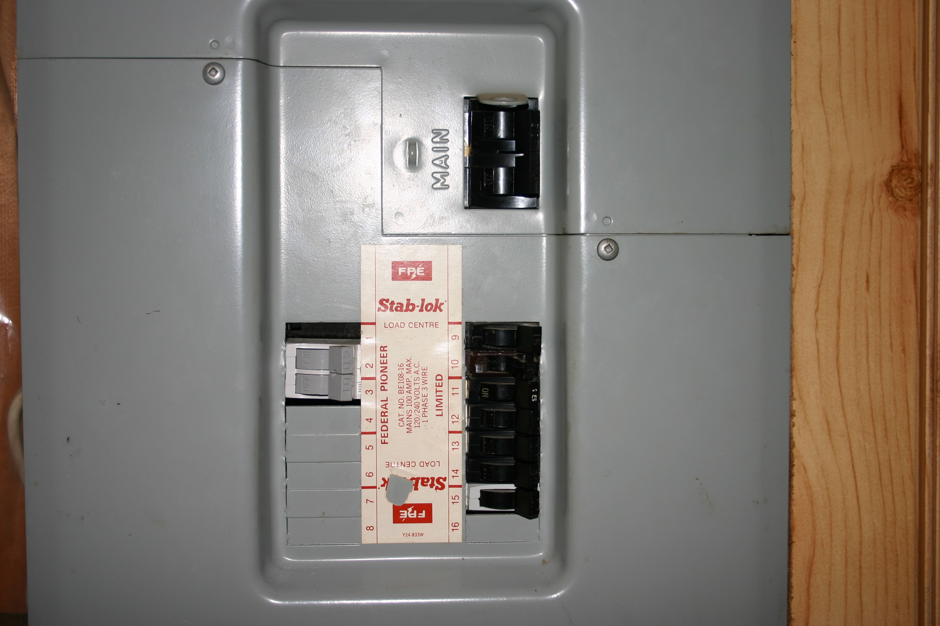 An older electrical panel in a house in Edmonton why you should upgrade from 60 amp to 100 amp service gimme shelter Fuse Box to Breaker Box at gsmx.co
